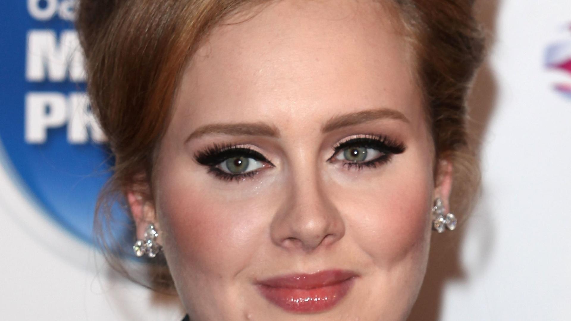 Adele no Prêmio Barcalycard Mercury em Londres (06/09/11)