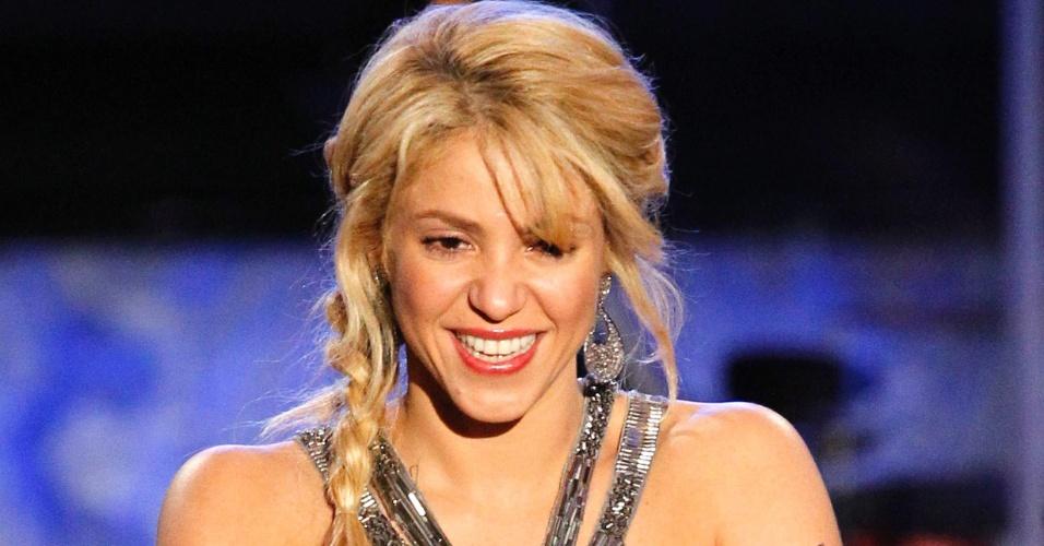 Shakira é eleita Personalidade do Ano pela Academia Latina de Gravação, em Las Vegas (9/11/11)