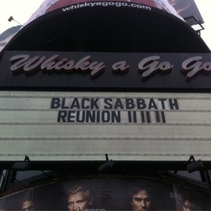 A banda Black Sabbath se re�ne nesta sexta-feira (11/11/11) no bar Whisky a Go Go em West Hollywood, Calif�rnia