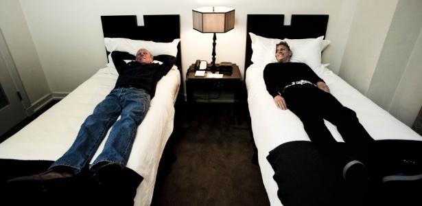 A banda VCMG, formada pelos co-fundadores do Depeche Mode Martin Gore e Vince Clarke