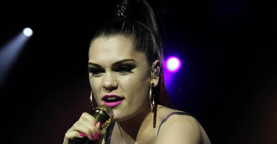 A cantora Jessie J se apresenta em São Paulo no F1 Rocks (24/11/11)