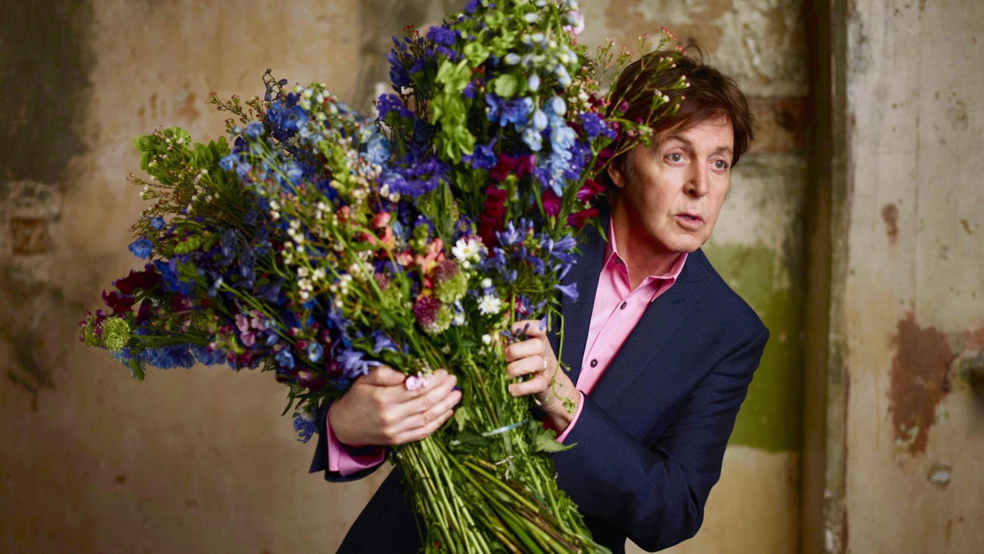 Paul McCartney em foto de divulgação do álbum