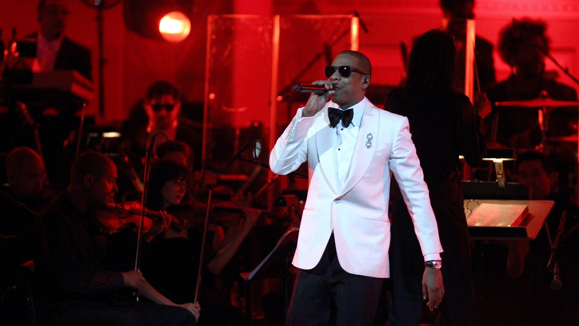 Jay-Z se apresenta no Carnegie Hall , em Nova York (06/02/12)