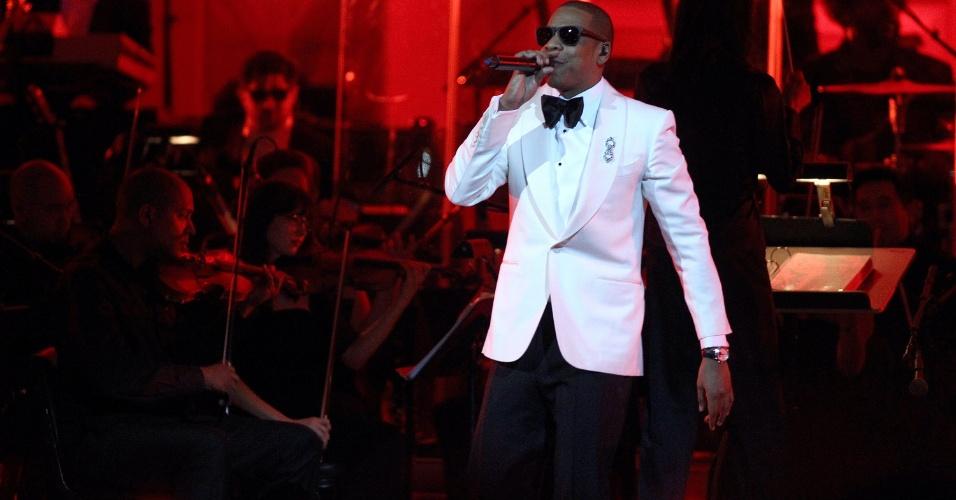 Jay-Z se apresenta no Carnegie Hall , em Nova York (06/02/12)