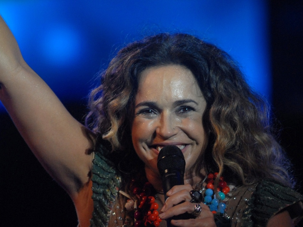 Daniela Mercury é a última atração do Rio Verão Festival, no Engenhão, Rio de Janeiro (3/3/12)