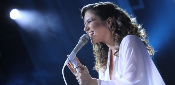Maria Rita faz show em homenagem à mãe, Elis Regina, no Vivo Rio, no Rio de Janeiro (19/3/12)