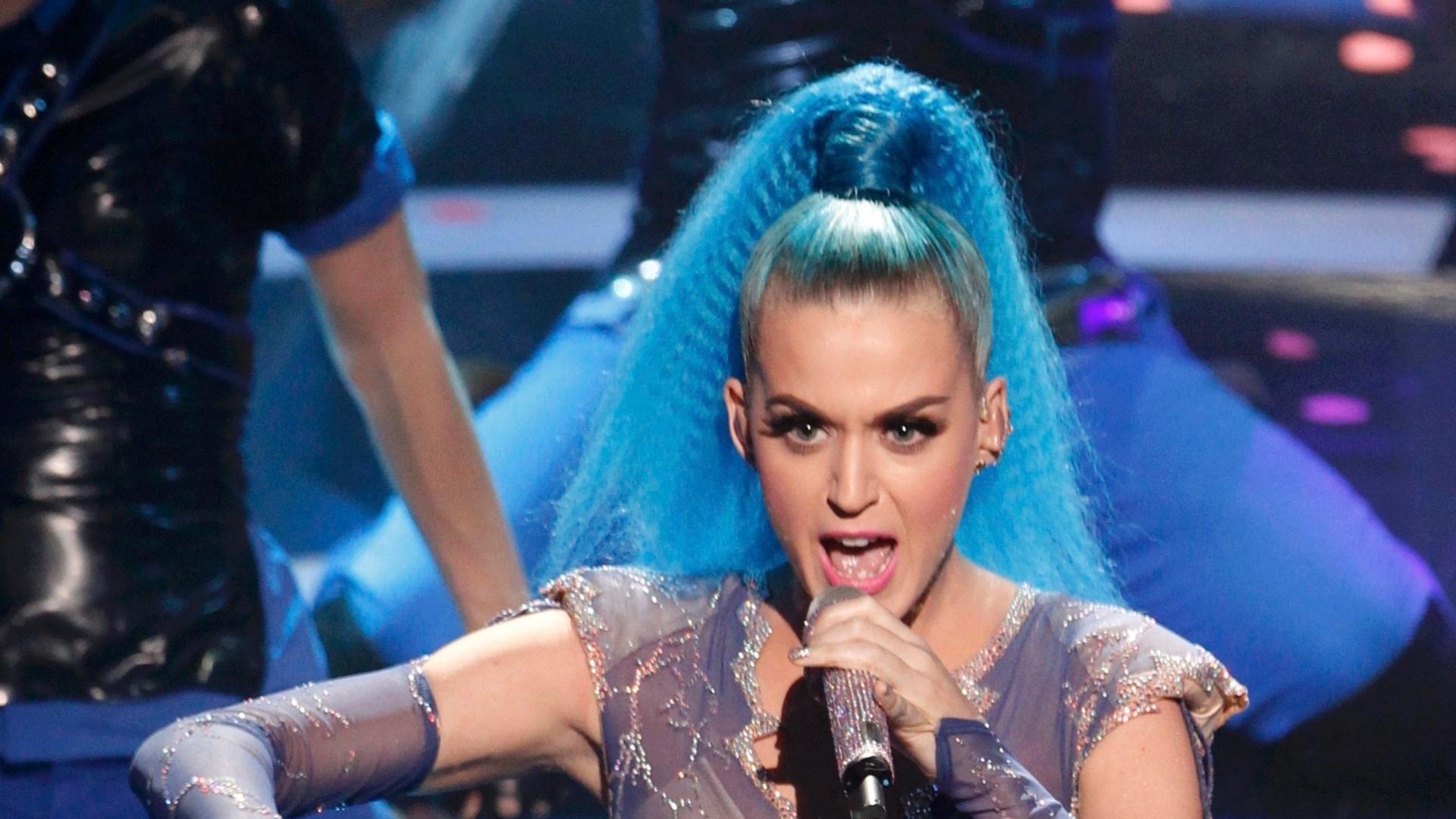 Katy Perry durante apresentação no Echo Awards na Alemanha (22/3/12)