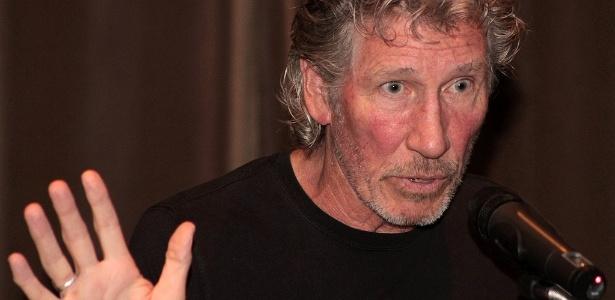 Roger Waters em entrevista coletiva no Rio de Janeiro (28/3/12)