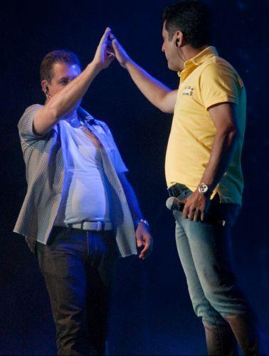 A dupla Bruno & Marrone faz sua primeira apresentação do ano, no Citibank Hall, Rio de Janeiro (28/01/2011)