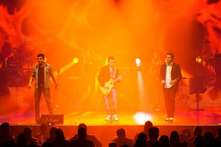 Dupla Bruno e Marrone fez show no Via Funchal, na última terça-feira (21/6)