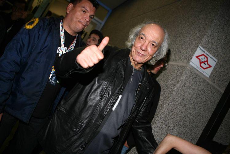 O cantor e compositor Erasmo Carlos no VMB, premiação da MTV, no Credicard Hall, em São Paulo (01/10/2009)