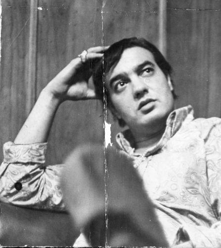 O cantor e compositor Erasmo Carlos posa para foto (01/01/1967)