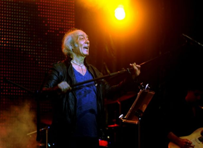 Erasmo Carlos levou ao Circo Voador, no Rio de Janeiro, o show de seu álbum