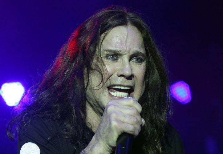 O músico britânico Ozzy Osbourne em apresentação realizada no festival Sunset Strip em Los Angeles, nos Estados Unidos (12/09/2009)