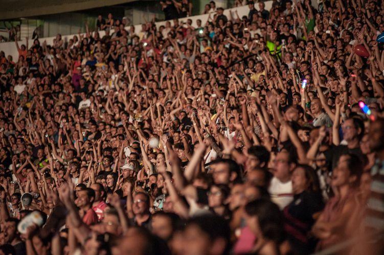 Cerca de 40 mil foram ao show do ex-beatle Paul McCartney no estádio do Arruda, em Recife, segundo a produção do espetáculo (21/4/2012)