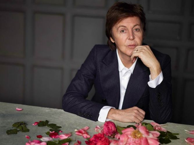 Paul McCartney em foto de divulgação do disco
