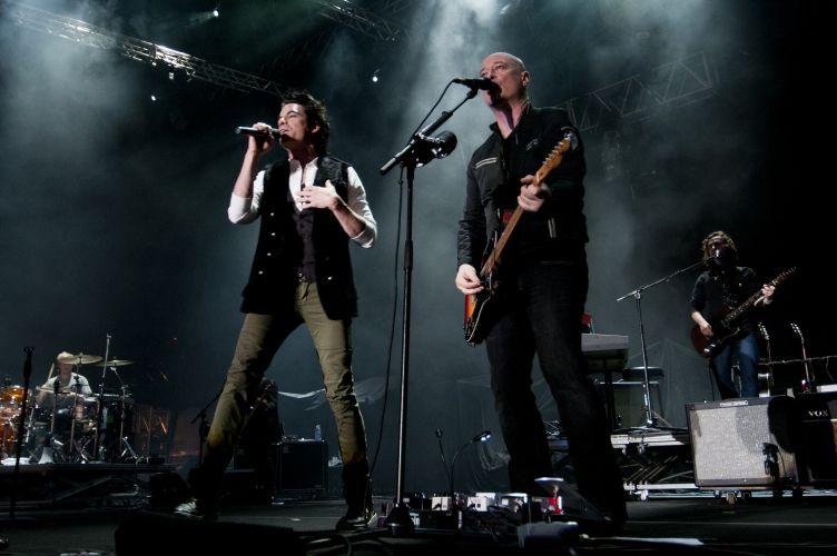 Train é a primeira atração internacional da edição gaúcha do Pop Music Festival, em Porto Alegre. A banda promove o disco