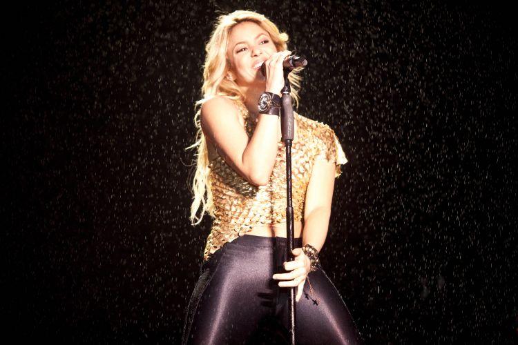 A cantora colombiana Shakira é uma das principais presenças no Pop Music Festival, evento de música pop que percorre a América Latina (19/03/2011)