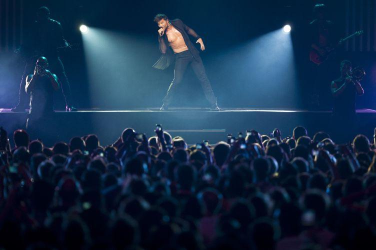 Ricky Martin apresenta turnê