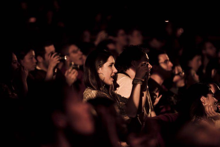 Plateia do show de gravação do DVD