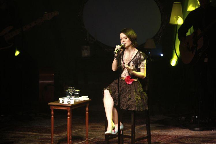 Sandy canta em show realizado no Citibank Hall, em São Paulo; repertório incluiu canções como