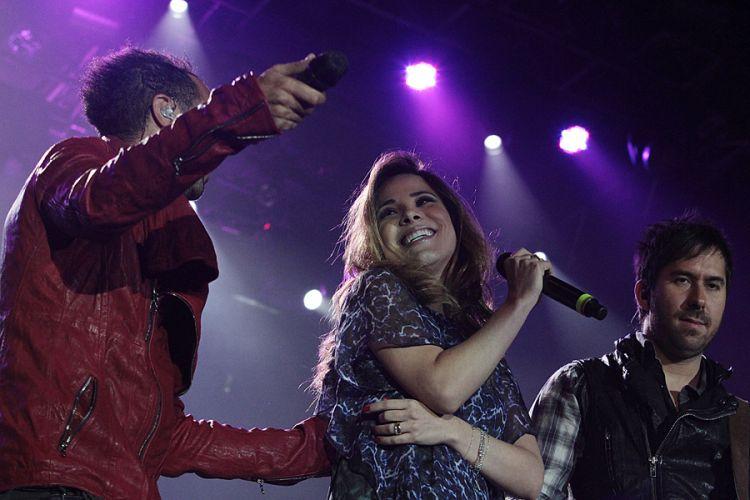 Camila Trio recebe Wanessa no festival de música latina