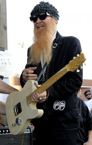 Billy Gibbons se apresenta no Threadgills, como parte do festival norte-americano SXSW 2011 em Austin, no Texas (17/03/2011)