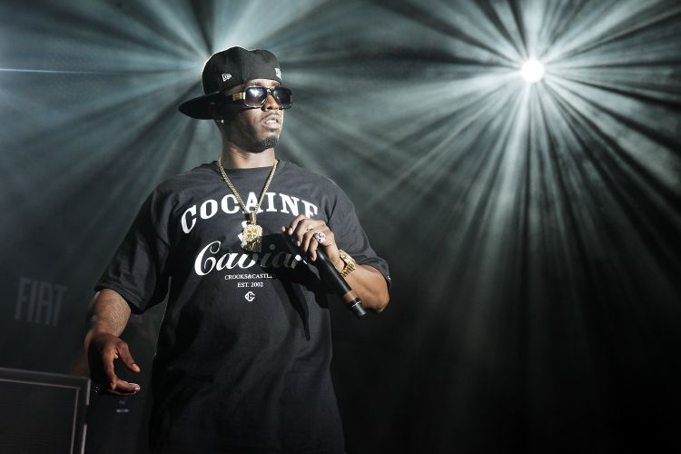 O rapper P. Diddy em apresentação surpresa no Fader Fort by Fiat durante a edição 2011 do festival South By Southwest em Austin, no Texas (19/03/2011)
