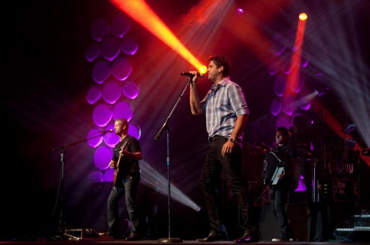 A dupla sertaneja Victor & Leo volta ao palco do Citibank Hall, no Rio de Janeiro, para um show na noite de sábado (15/01/2011)