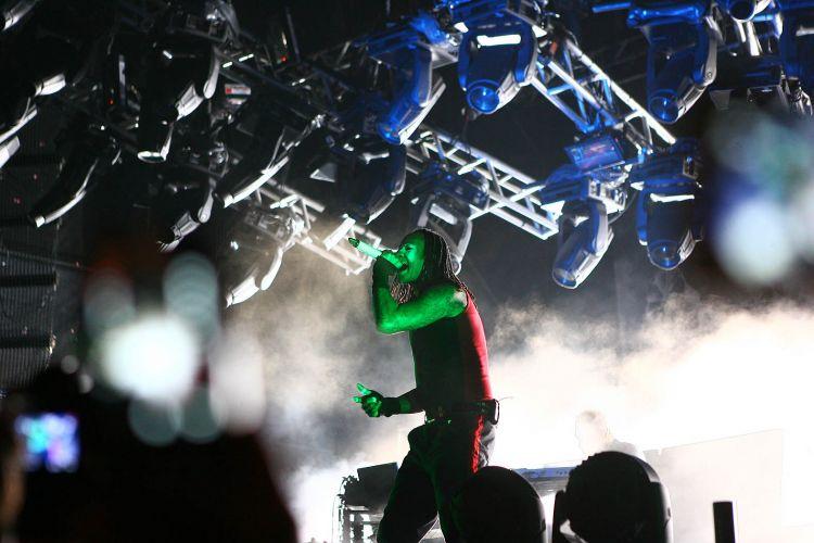 Prodigy, que esteve pela última vez no Brasil em 2009, voltou ao país para se apresentar no festival de música eletrônica XXXperience, que aconteceu em Itu (10/12/2011)