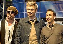 Os Backstreet Boys se apresentam em Berlim, Alemanha (10/10/2007)