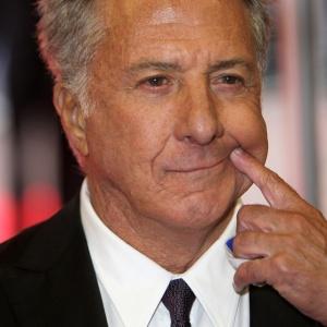 Dustin Hoffman na première de Last Chance Harvey em Londres