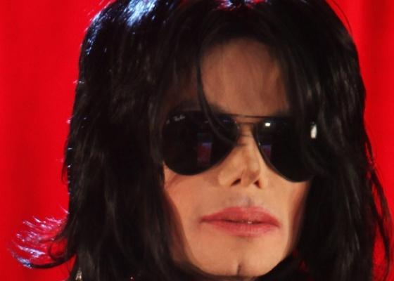 Michael Jackson em coletiva de imprensa no O2 Arena em Londres (5/3/2009)