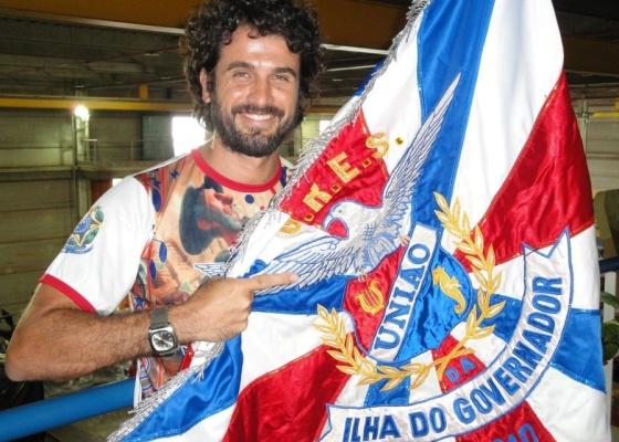 Ator Eriberto Leão estreará na Sapucaí como Dom Quixote, na União da Ilha (12/1/2010)