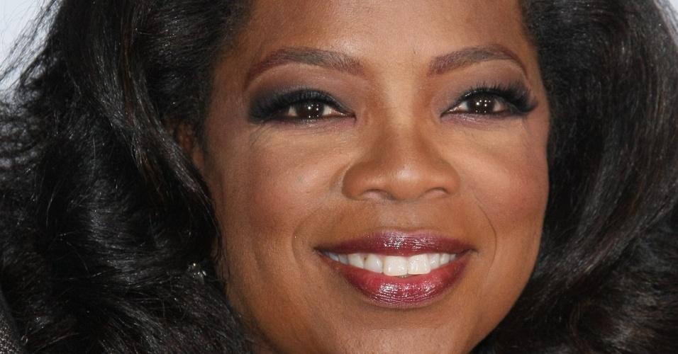 Oprah Winfrey na pre-estreia de