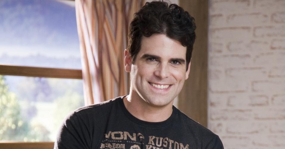"""O ator Mateus Rocha em foto de divulgação de """"A Fazenda 2"""""""