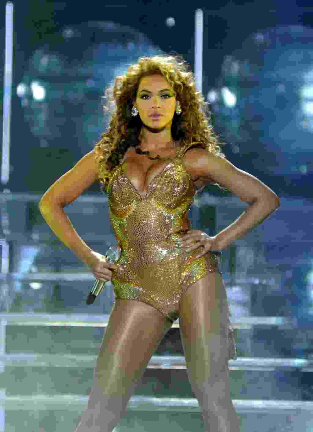 Beyoncé em show no Rio de Janeiro (7/2/10) - André Durão/UOL