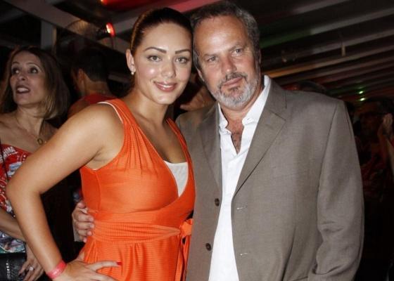 Tânia Mara e Jayme Monjardim no Clube Monte Líbano (30/01/10)