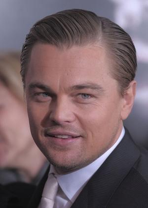 O ator Leonardo DiCaprio na exibição especial de