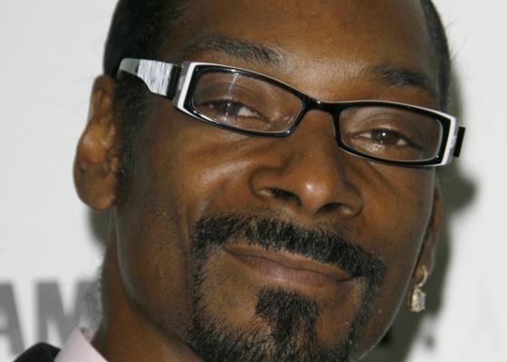 O rapper Snoop Dogg no anúncio dos indicados ao American Music Awards no Beverly Hills Hotel em Beverly Hills (13/10/2009)