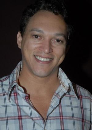 O ator Fábio Lago durante a apresentação da nova série da Rede Globo,