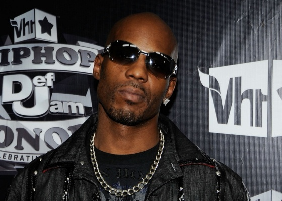 O rapper DMX no 2009 VH1 Hip Hop Honors no Brooklyn Academy of Music no Brooklyn (23/11/2009)