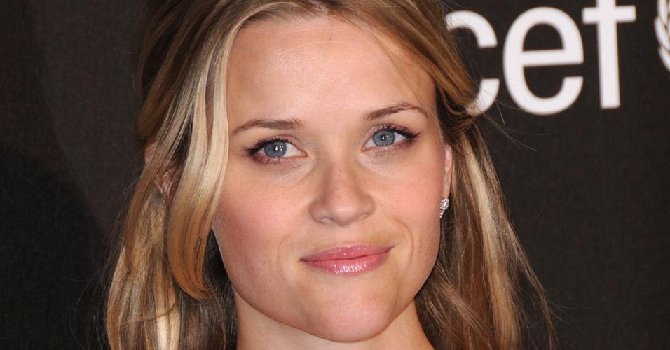 A atriz Reese Whiterspoon em evento de caridade da Montblanc em Los Angeles (20/2/2009)