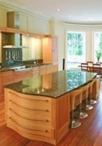 A cozinha da casa de Nicolas Cage na cidade de Bath, no Reino Unido, comprada em 2007