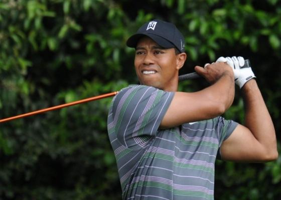 Tiger Woods durante o