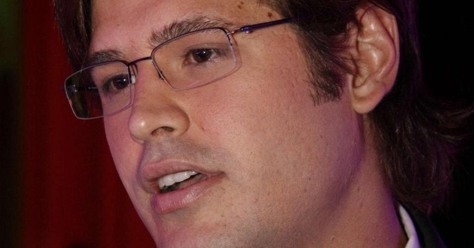 O cantor Dado Dolabella no Prêmio Atitude Carioca no Jockey Club da Gávea(28/01/2010)