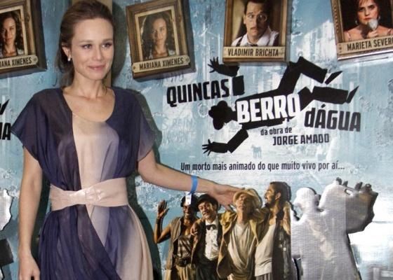 Mariana Ximenes na pré-estreia do filme