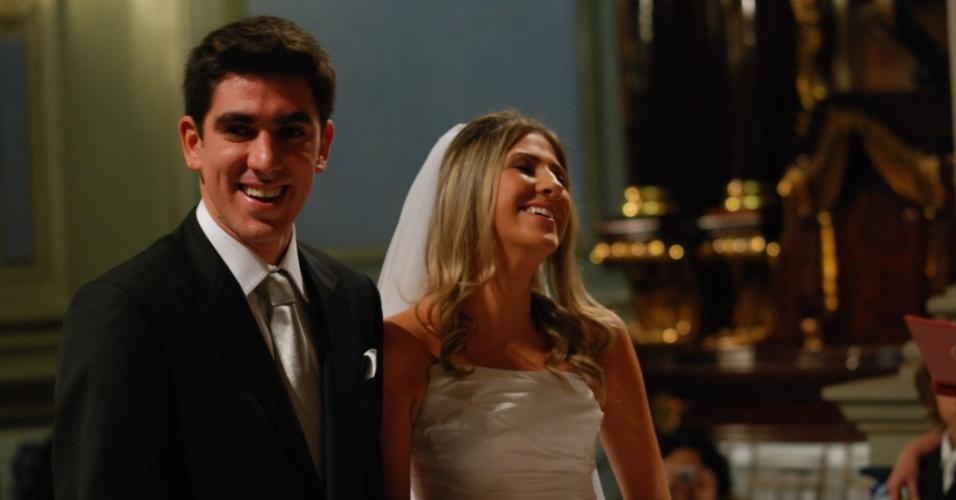 Marcelo Adnet e Dani Calabresa se acasam em São Paulo (15/05/2010)