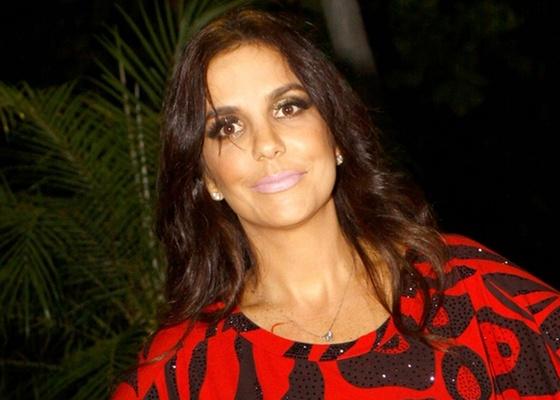 Ivete Sangalo na festa da TAM no Morro da Urca, no Rio de Janeiro (14/5/10)