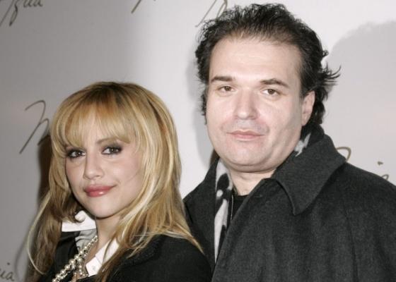 A atriz Brittany Murphy e o marido Simon Monjack na semana de moda de Nova York (4/2/2008)